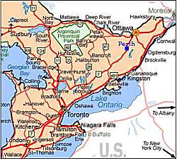 Directions To Perth Ontario - Where is ottawa